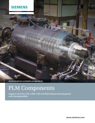 PLM Components Brochure - Siemens PLM Software