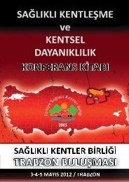 bildiriler - Türkiye Sağlıklı Kentler Birliği