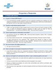 Perguntas e Respostas - Movimento Brasil Competitivo