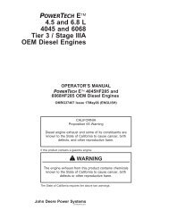 OMRG37407 4 & 6 pte tier 3.pdf - John Deere Industrial Engines