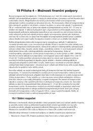 19 Příloha 4 – Možnosti finanční podpory - Biom