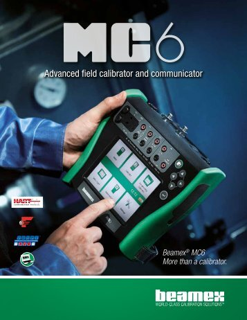 Advanced field calibrator and communicator - Control Global