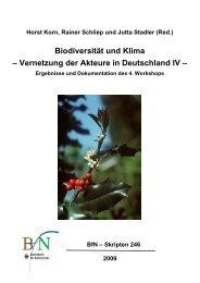 Biodiversität und Klima - Potsdam Institute for Climate Impact ...