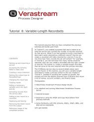 Tutorial 8: Variable-Length Recordsets - Attachmate