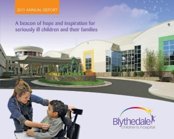 Blythedale Children's Hospital 2011 Annual Report