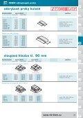 CENÍK zákrytových prvků zákrytové prvky tl. 95 mm - KB - BLOK ... - Page 6