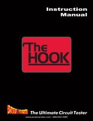 PPH1 Power Probe The Hook Operation Manual