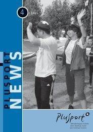 PluSport-News 4/2005 (pdf, 930kb) - PLUSPORT Behindertensport ...
