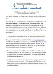 AKTUELL aus dem DRB Bundesverband 16/2009 (Zeitraum 26.08.2009 bis ...
