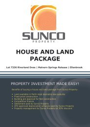 HOUSE AND LAND PACKAGE - Rainbow Beach Real Estate