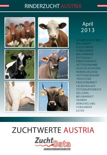ZUCHTWERTE AUSTRIA