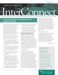 InterConnect Newsletter - Benesch