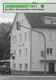 Jahresbericht 2011 Einzelseiten - Haus Linde