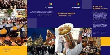 Musikalische Highlights - Plochingen