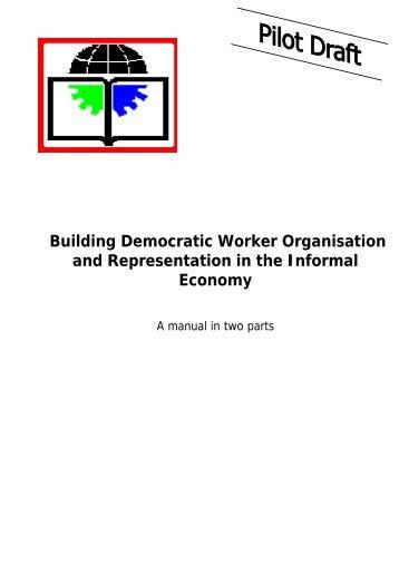 Building Democratic Worker Organisation and ... - Inclusive Cities