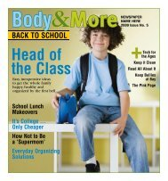 BODY & MORE Issue No. 5 2009 - Content That Works