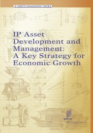 IP Asset Development and Management: A Key Strategy for ... - WIPO