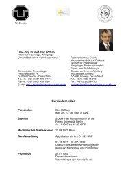 Curriculum vitae Gert Höffken - Deutsche Gesellschaft für ...