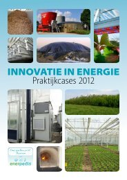 Innovatie in energie - praktijkcases 2012 - PCS