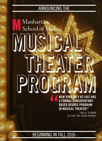 MSM_MusicalTheaterProgram