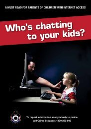 Who's chatting to your kids? - Queensland Police Service