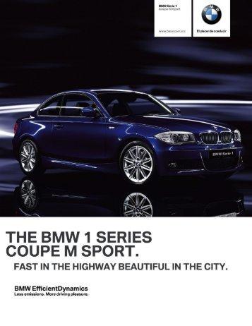 BMW Serie 1 Coupé M Sport.