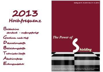 Katalog 2013 Hochfrequenz Interior Decoration (PDF) - Ecologa