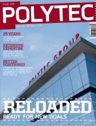 for the financial year 2011 - polytec
