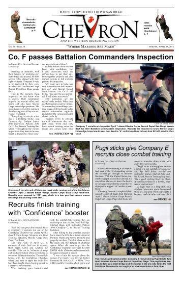 Co. F passes Battalion Commanders Inspection - Marine Corps ...