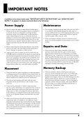 Owner's Manual - La Toile des batteurs - Page 5