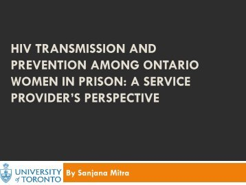 slides - OHTN Research Conference