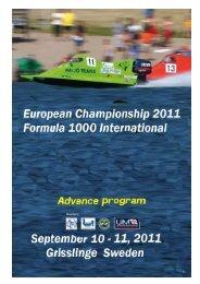 Advance Program, Schedule, Entry Form (PDF, 665kB)