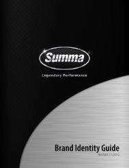 Summa Brand Identity Guide