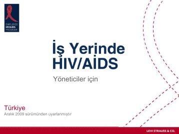 Yöneticiler için - HIV/AIDS Program