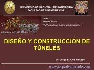 Diseño y Construccón de Túneles - Dr. Ing. Jorge Elias Alva Hurtado