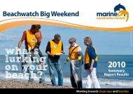 Beachwatch Summary Report - Marine Conservation Society