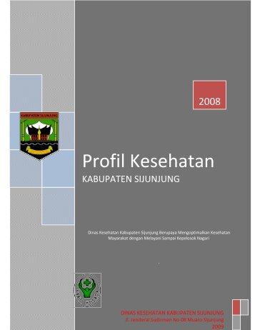 Profil Kesehatan - Departemen Kesehatan Republik Indonesia