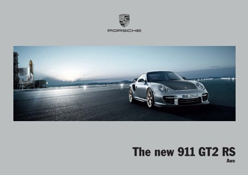 The new 911 GT2 RS