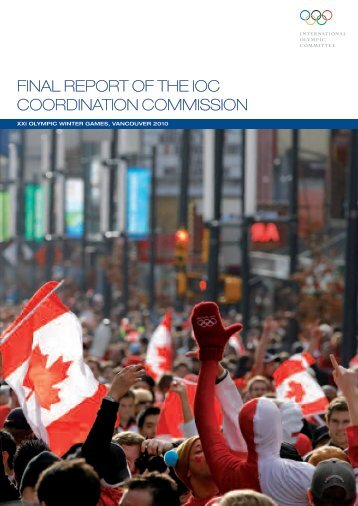 Flnal REPORT OF THE loc Coordlnatlon Commlsslon