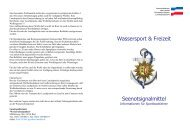 Seenotsignalmittel - Landespolizei Schleswig-Holstein