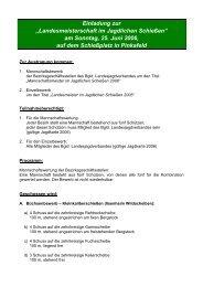 Landesmeisterschaft im Jagdlichen Schießen - Burgenländischer ...