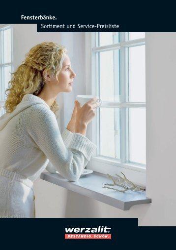 Helopal Fensterbänke - Pressler