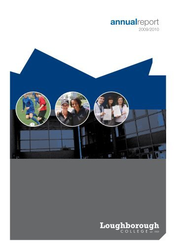 Annual Report - Loughborough College