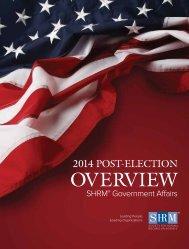 SHRM Post-Election 11-21-2014