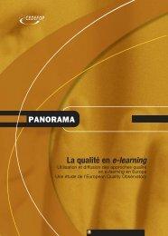 La qualité en e-learning - Europa