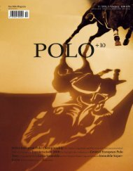 Ausgabe 2/08 Download (6,2 MB) - Polo+10 Das Polo-Magazin