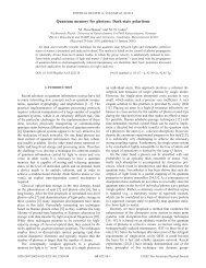 Quantum memory for photons: Dark-state polaritons - Sandbox