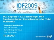 PCI Express* 3.0 Technology: PHY Implementation ... - Intel
