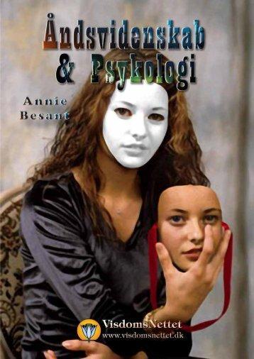 ÅNDSVIDENSKAB & PSYKOLOGI - Annie Besant - Visdomsnettet