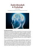 ÅNDSVIDENSKAB & PSYKOLOGI - Annie Besant - Visdomsnettet - Page 3